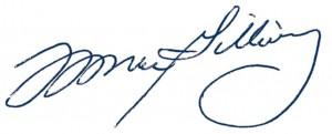 Fred MacGillivray Signature